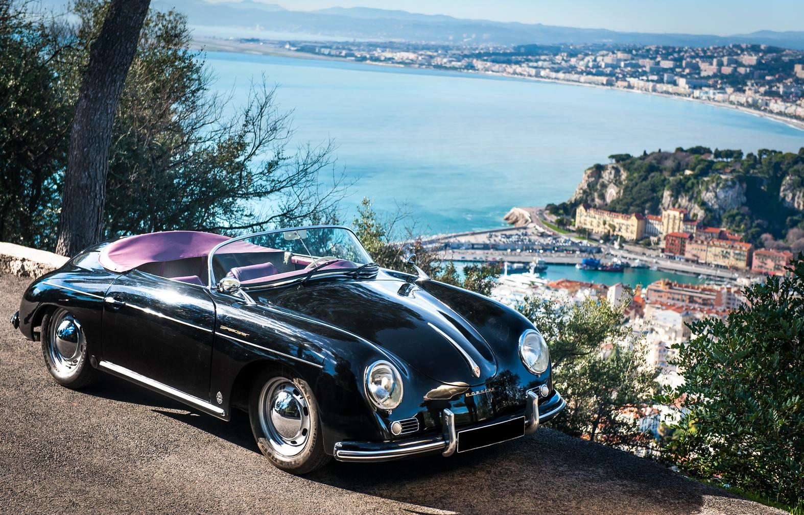 Porsche 356 Black Rent A Classic Car