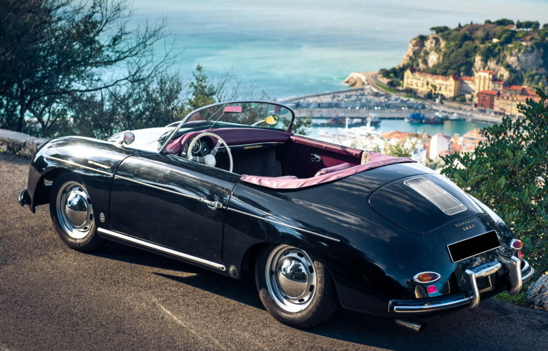 Porsche 356 Black Rent A Classic Car