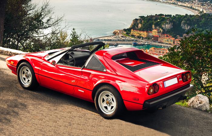 Ferrari 308 GTS – Rent A Clic Car
